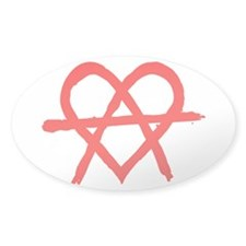 Anarchy Heart Decal