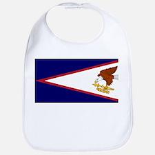 American Samoa Flag Bib