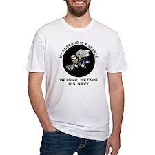 Seabee Husband U.S. Navy T-Shirt