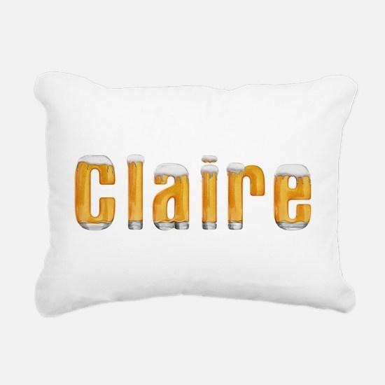 Claire Beer Rectangular Canvas Pillow