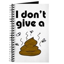 I Don't Give a Poop Journal