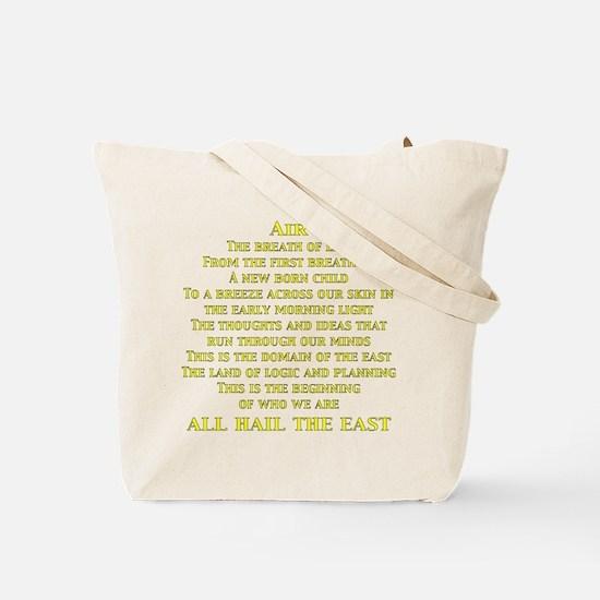 Air Center Tote Bag