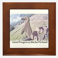 Machu Pilchard Framed Tile