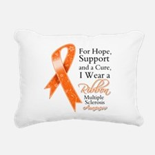Cure Hope Multiple Sclerosis Rectangular Canvas Pi