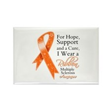 Cure Hope Multiple Sclerosis Rectangle Magnet (10