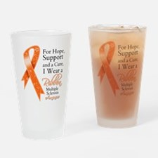 Cure Hope Multiple Sclerosis Drinking Glass