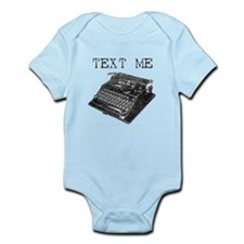 Typewriter Infant Bodysuit