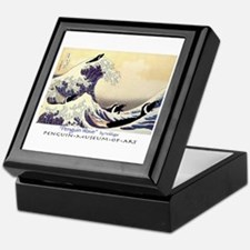 Penguin Wave Keepsake Box