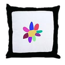 Single Flower 4 Throw Pillow