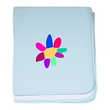 Single Flower 4 baby blanket