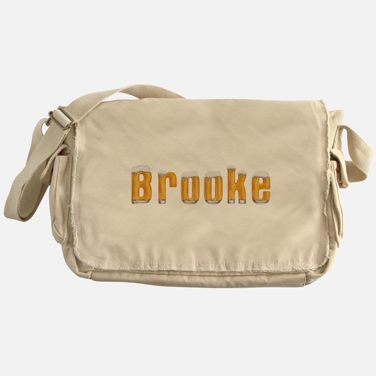 Brooke Beer Messenger Bag