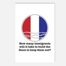 How Many Immigrants... Postcards (Package of 8)