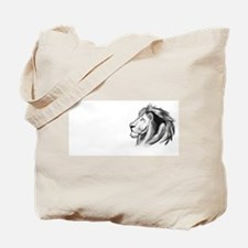 Ghostly Lion Tote Bag