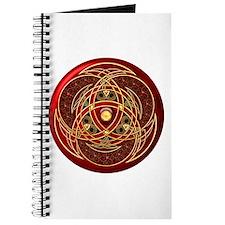 Celtic Medallion - Red Journal