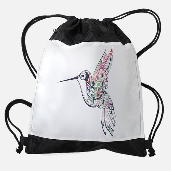 Hummingbird Drawstring Bag