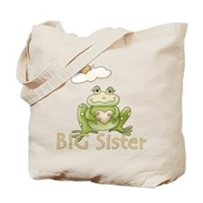 Big Sister Frog Tote Bag