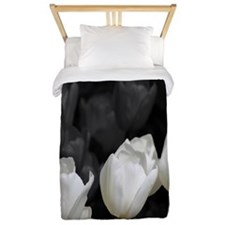 White Tulip Twin Duvet