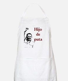 Hugo Chavez Son of a Bitch BBQ Apron