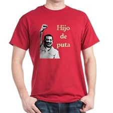 Hugo Chavez Son of a Bitch Red T-Shirt