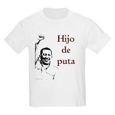 Hugo Chavez Son of a Bitch Kids T-Shirt