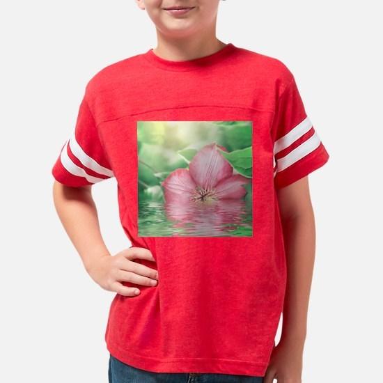 Water Flower Youth Football Shirt
