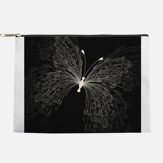 Elegant Butterfly Makeup Pouch