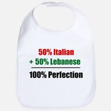 Half Italian, Half Lebanese Bib