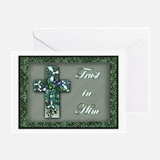 'Trust in Him' Inspirational Card