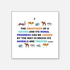 Greatness of nations judged by how animals treated