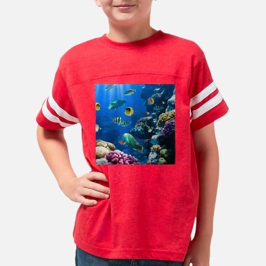 Sea Life Youth Football Shirt