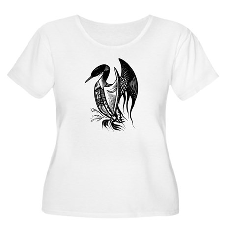 Loon Plus Size T-Shirt