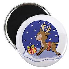Baby Christmas Reindeer Magnet