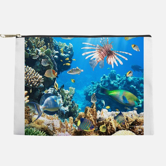 Tropical Fish Makeup Pouch