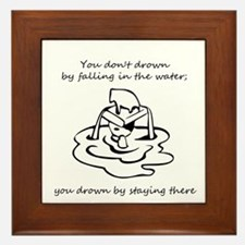 Quote by Edwin Louis Cole Framed Tile