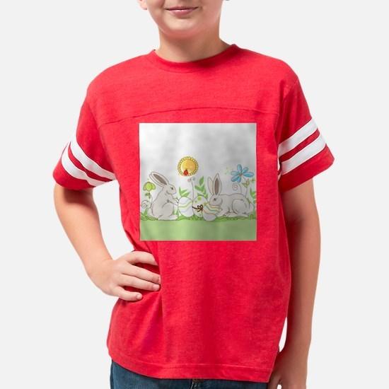 Easter Bunny Youth Football Shirt