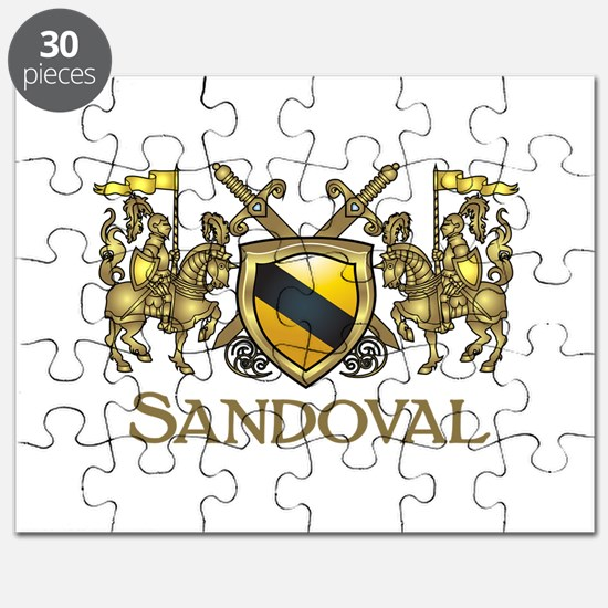 Sandoval Coat of Arms Puzzle