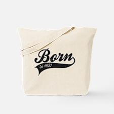 Born in 1951 - Birthday Tote Bag