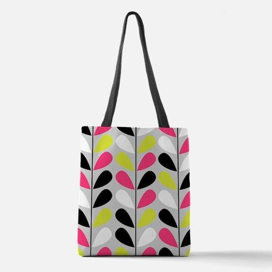 Retro Pattern Polyester Tote Bag