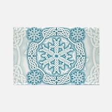 Celtic Winter Rectangle Magnet