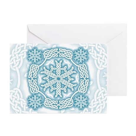 Celtic Winter Greeting Cards (Pk of 10)