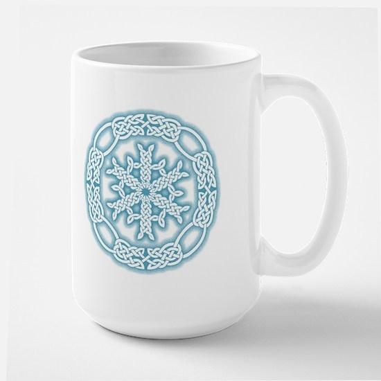 Celtic Winter Large Mug