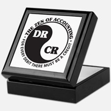 Zen of Accounting Keepsake Box