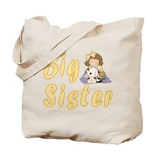 Big Sister Little Friends 2 Tote Bag