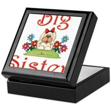 Big Sister Fluffy Pup 7 Keepsake Box