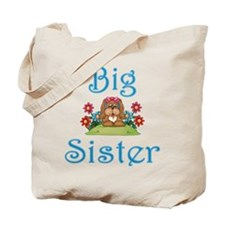 Big Sister Fluffy Pup 5 Tote Bag