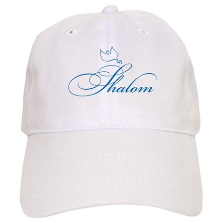 Shalom and Dove Cap