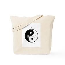 Yin & Yang E=mc2 Tote Bag
