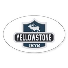 Yellowstone Nature Badge Decal