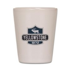 Yellowstone Nature Badge Shot Glass