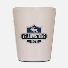 Yellowstone Nature Badge Shot Glass